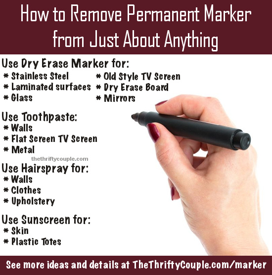 how-to-remove-permanent-marker-from-just-about-anything