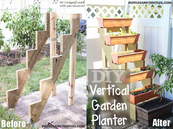 How To Build a DIY Vertical Planter